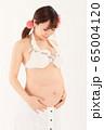 妊娠9ヶ月の妊婦さん 65004120