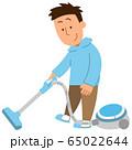 掃除機・男1 65022644