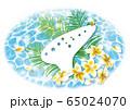 夏と楽器 オカリナ横 65024070