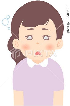 ぼーっとしている、反応が鈍い - 軽症者・無症状・自宅待機中の緊急性の高い症状 前兆 兆候 (単品) 65044358