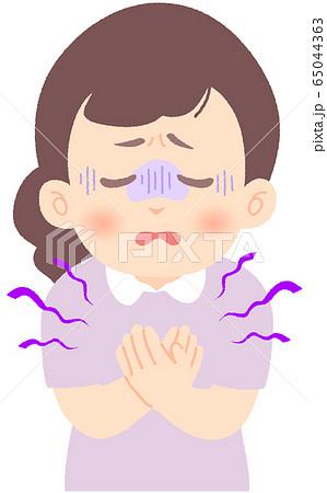 胸が痛い - 軽症者・無症状・自宅待機中の緊急性の高い症状 前兆 兆候 (単品) 65044363