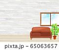 バーチャル背景  リモート会議 窓 部屋 窓辺 65063657