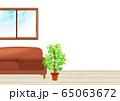 バーチャル背景  リモート会議 窓 部屋 窓辺 65063672