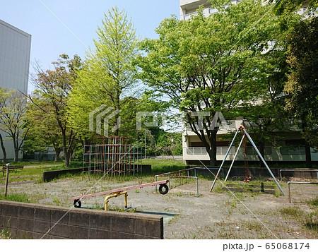廃墟となった児童公園(横浜市金沢区富岡東) 65068174