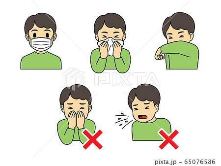 無料 咳 エチケット イラスト 新型コロナ感染予防をおさらい 正しい手洗い、咳エチケット、3つの密