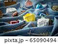 津波 洪水 豪雨災害 自然災害 水害 浸水 65090494