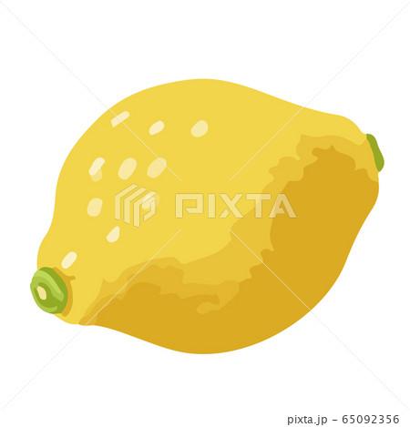 レモンの手描きイラスト 65092356