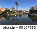 ロスアンゼルスのベニスキャナルの高級住宅街 65107633