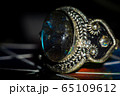 Silver ring with labradorite 65109612