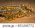 Golden bracelets set 65109772