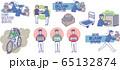 宅配業者 デリバリー セット 65132874