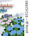 紫陽花 赤橋 65142980