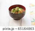 豚汁 お味噌汁 お椀 65164863