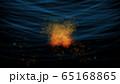 水の中に燃える炎 65168865
