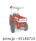 赤いトラクター 65188710