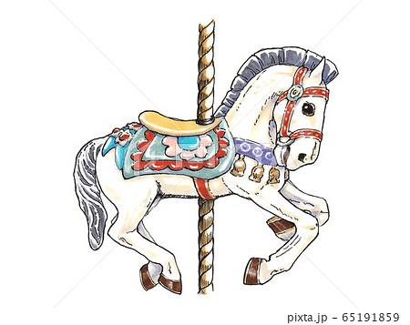 メリーゴーランドの馬 65191859