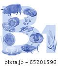 ビタミンB1が多い食品 65201596