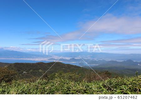 達磨山から見た沼津市方面の眺望(静岡県) 65207462