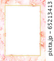 背景-フレーム-花-ピンク 65213413