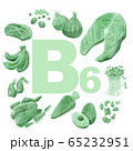 ビタミンB6の多い食品 65232951