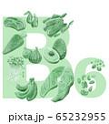 ビタミンB6の多い食品 65232955