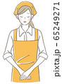 女性店員 お詫び 65249271
