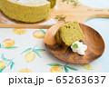 シフォンケーキ 抹茶 65263637