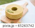 シフォンケーキ 抹茶 65263742