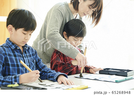 書道 教室 子供 65268948