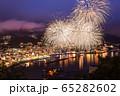 花火と夜景の熱海湾 65282602