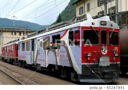 スイス・ベルニナ線、残り少なくなって来た旧型電車51号 65287891