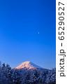 山梨_厳冬の富士山絶景 65290527