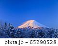 山梨_厳冬の富士山絶景 65290528