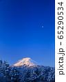 山梨_厳冬の富士山絶景 65290534
