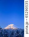 山梨_厳冬の富士山絶景 65290535