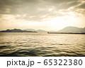 桟橋の夕景 65322380