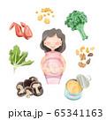 妊娠中に摂りたい食材色々 65341163