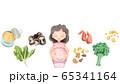 妊娠中に摂りたい食材色々 65341164