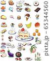 お菓子 食べ物 65344560