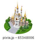 ヨーロッパの城-キャッスル 65348006