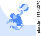 Dynamic sports, Various sports players illustration 050 65348270