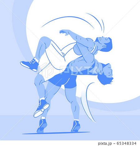Dynamic sports, Various sports players illustration 074 65348334