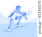 Dynamic sports, Various sports players illustration 051 65348370