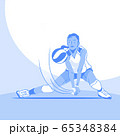 Dynamic sports, Various sports players illustration 049 65348384