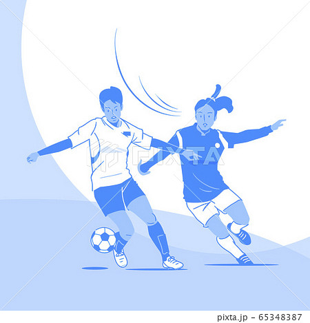 Dynamic sports, Various sports players illustration 009 65348387