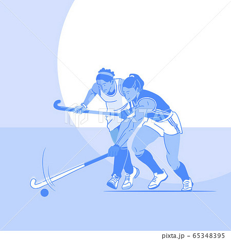 Dynamic sports, Various sports players illustration 014 65348395