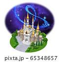 ヨーロッパの城-キャッスル星空 65348657