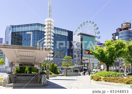 名古屋市中区・栄 栄交差点 サカエチカ 出入り口  日本生命栄町ビル 65348853
