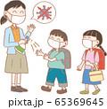 生活習慣_学校のウイルス対策・除菌2 65369645