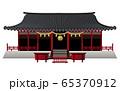 宮城建物1 塩釜神社ベクターイラストアイコン 65370912